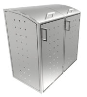Mülltonnenbox Olto Alice Inox