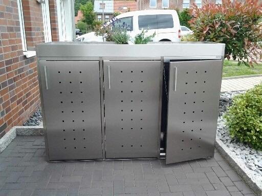 Mülltonnenboxen Tipps